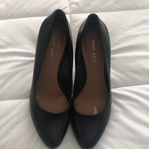 Nine West Black Stiletto Heels
